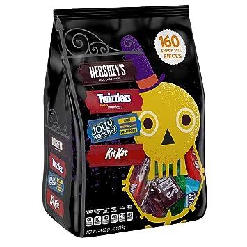 hershey halloween snack size candy assortment hersheys kit kat twizzlers jolly