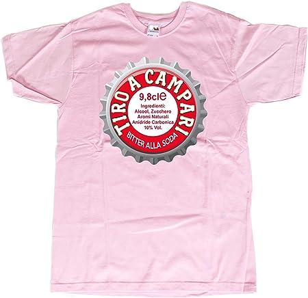 Camiseta alcohólica – Camiseta Birra – Camiseta Vino – Camiseta Divertida – Camiseta Graciosa – Tiro a Campari: Amazon.es: Deportes y aire libre