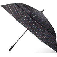 totes Stormbeater Vented One-Touch Auto Open Golf Umbrella