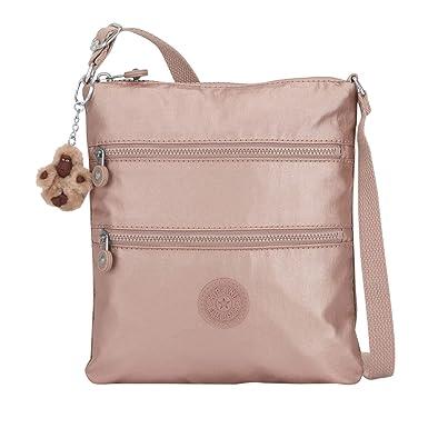 ab46da492 Kipling Keiko Metallic Mini Crossbody Bag - Rose Gold Metallic ...