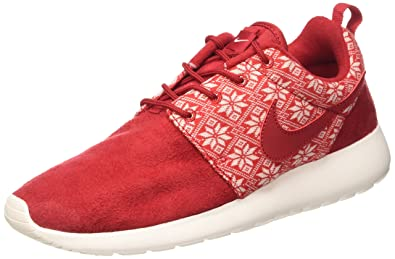 NIKE Roshe One Winter Men's Casual Shoes Size US 9, Regular Width, Color Red