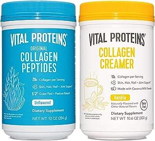 product image for 10.2oz Collagen Powder & 10.6oz Vanilla Collagen Creamer