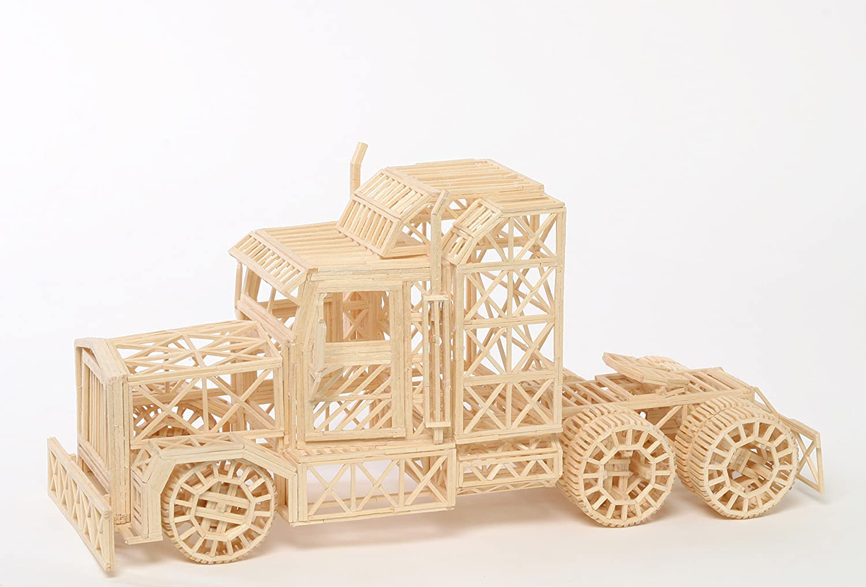Holzbausatz Chinesische Dschunke 3D Puzzle
