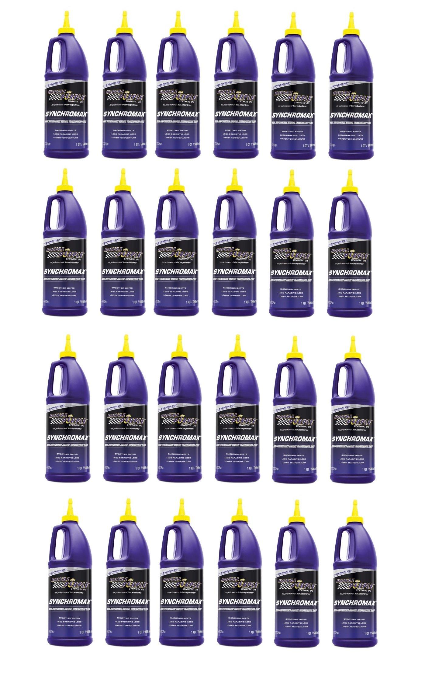 Royal Purple Synchromax Manual Transmission Fluid, 1 quart (Case of 24)