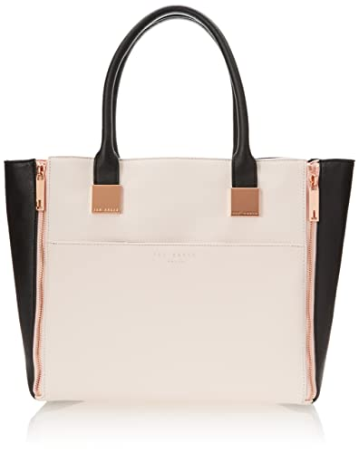 2e08025686e Ted Baker Leyah Crosshatch Shopper - BLACK. Roll over image to zoom in