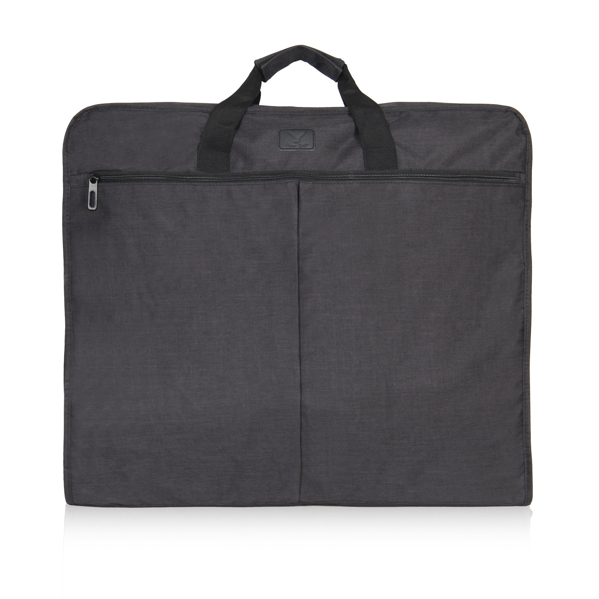 Hynes Eagle 45 inch Portable Garment Bag Hanging Travel Foldable Suit Bag Black by Hynes Eagle (Image #1)