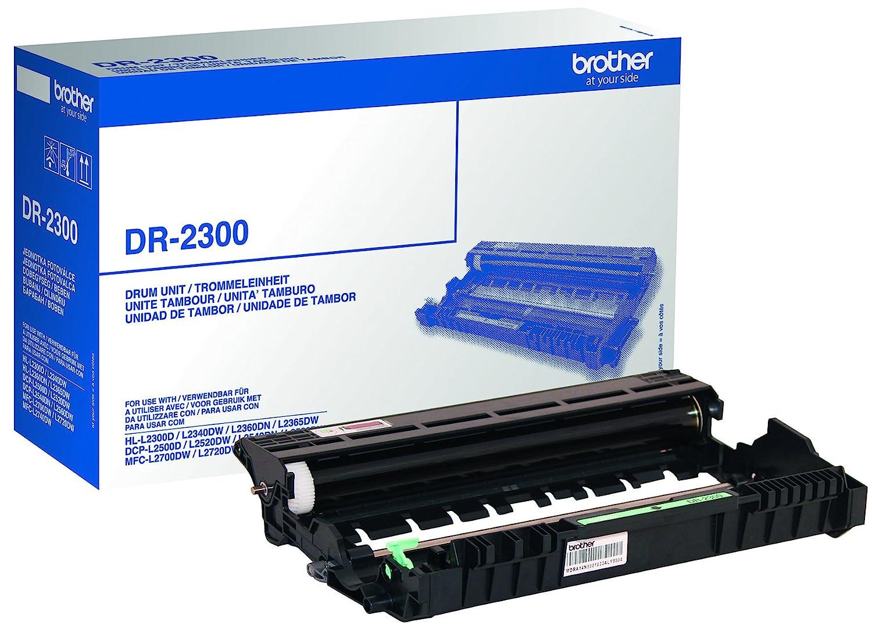 Brother DR2300 - Tambor para impresora (duración estimada: 12.000 ...