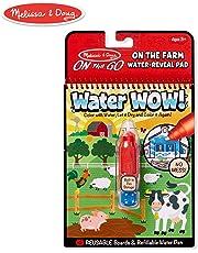 Melissa & Doug  On The Go Water Wow! - Farm Toy