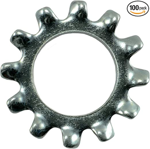 Hard-to-Find Fastener 014973239565 External Tooth Lock Washers 3//8 Piece-100