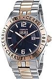 Cerruti - CRA120STR03MRT - Montre Homme - Quartz Analogique - Bracelet Acier inoxydable multicolore