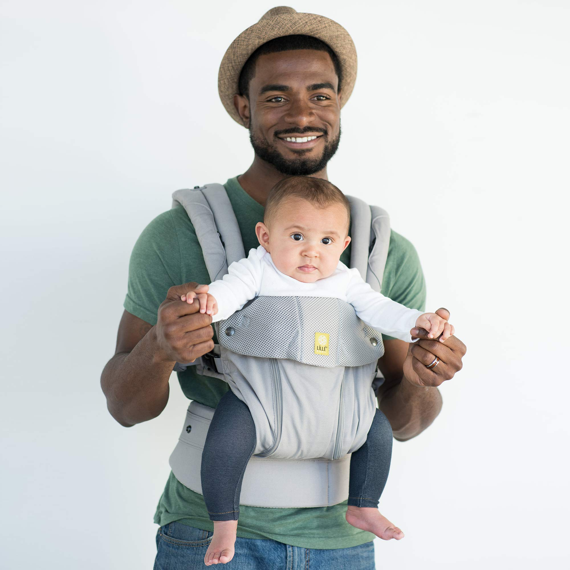 LILLEbaby SIX-Position, 360° Ergonomic Baby & Child Carrier by LILLEbaby – The COMPLETE All Seasons (Stone) by LILLEbaby (Image #7)