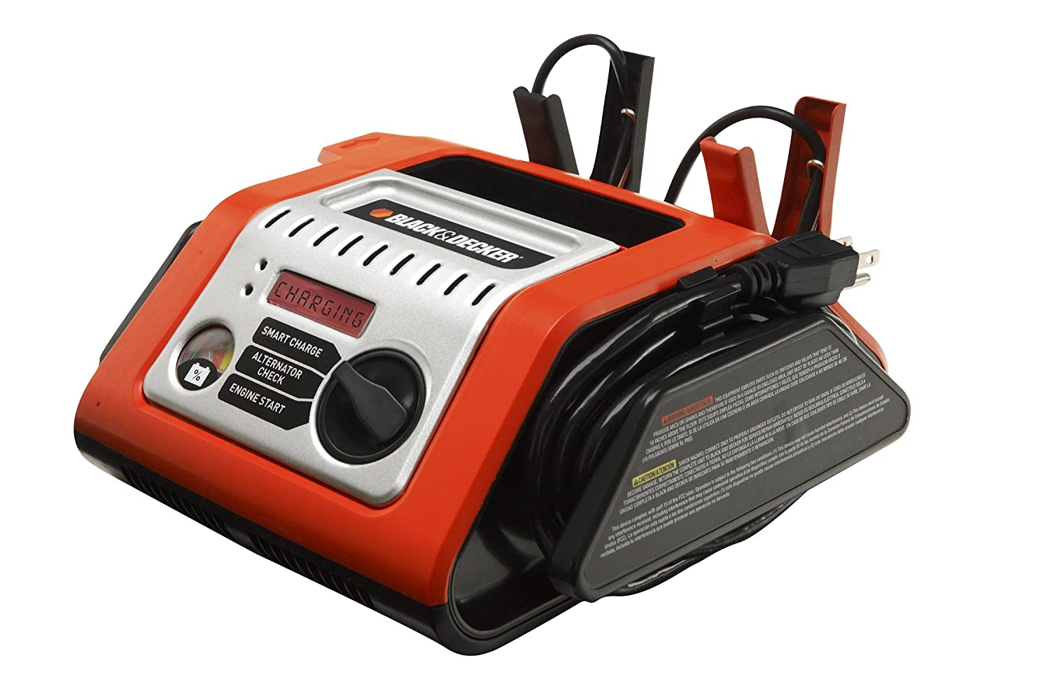 Amazon.com: BLACK+DECKER BCS25EB 25 Amp Simple Battery ...