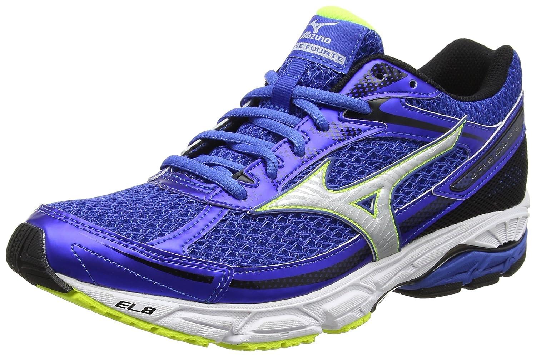 Mizuno Wave Equate, Zapatillas de Running para Hombre, Azul (Strong Blue/Silver/Safety Yellow), 40 EU: Amazon.es: Zapatos y complementos