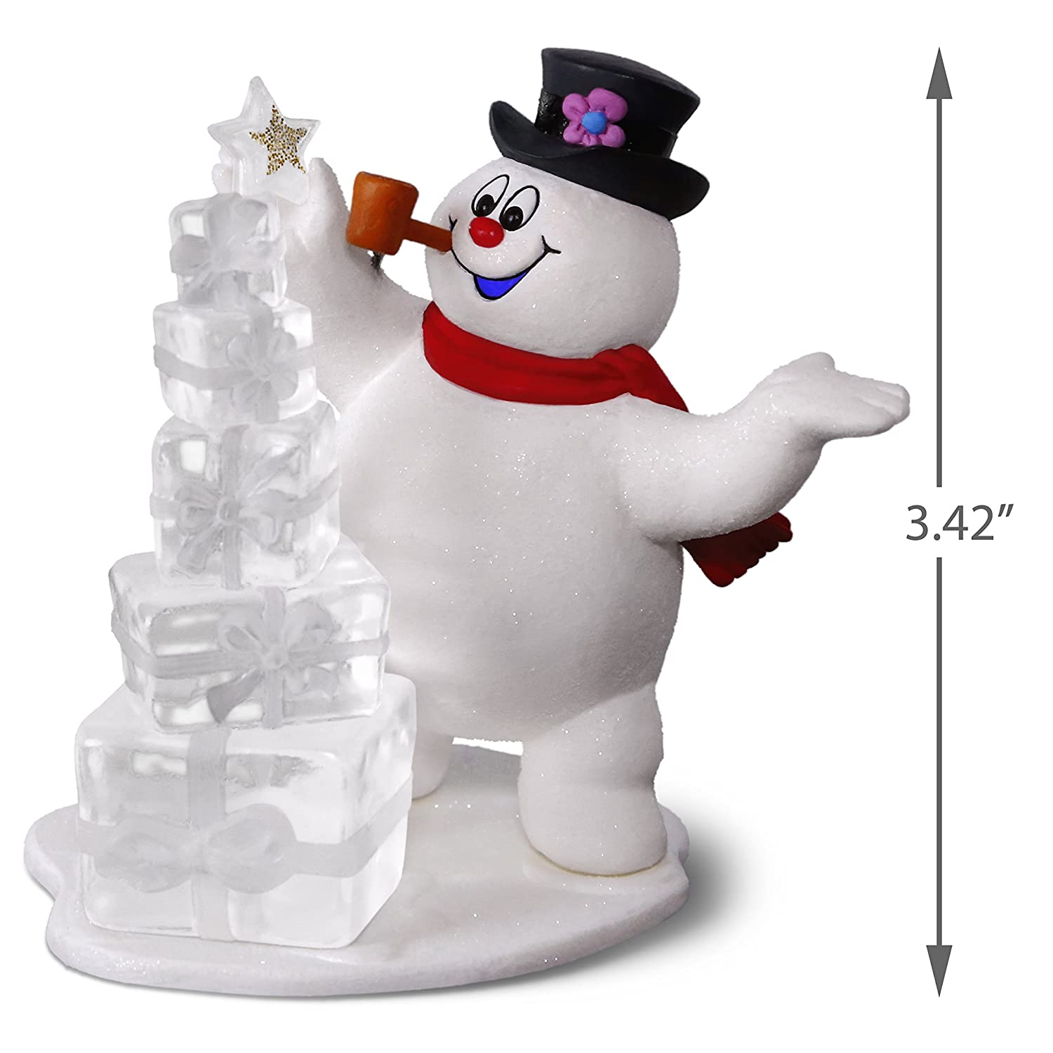 Amazon.com: Frosty the Snowman A Jolly Happy Holiday Ornament ...