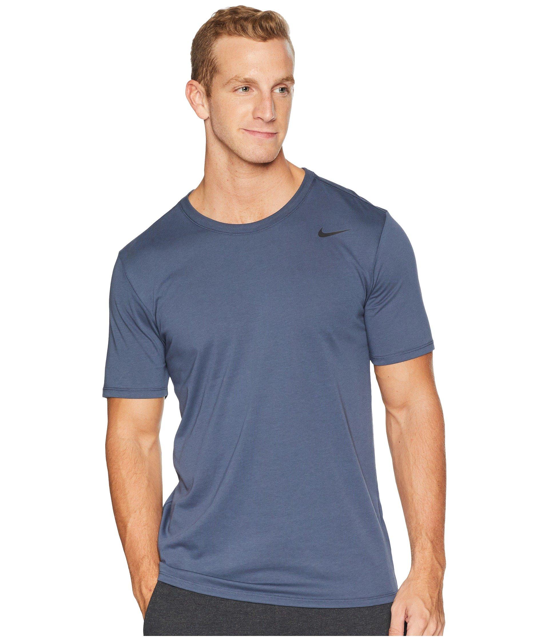 NIKE Men's Dry Training T Shirt Thunder Blue Size Small by NIKE