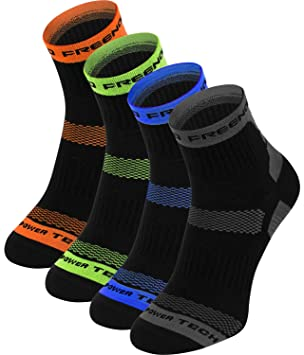 Thermoactive calcetines – 4 pares – Running, ciclismo: Amazon.es: Deportes y aire libre