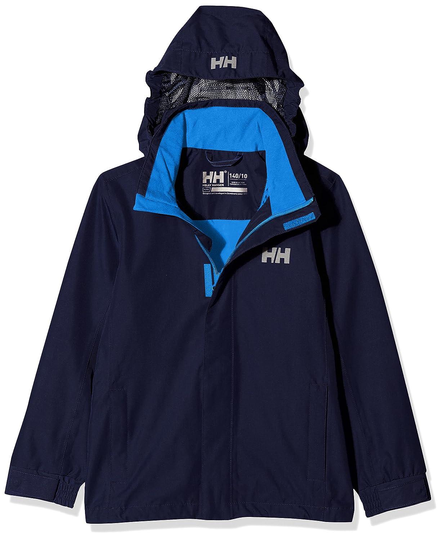 Private Brands US 40149 Helly Hansen Kids Dubliner Rain Jacket Helly Hansen