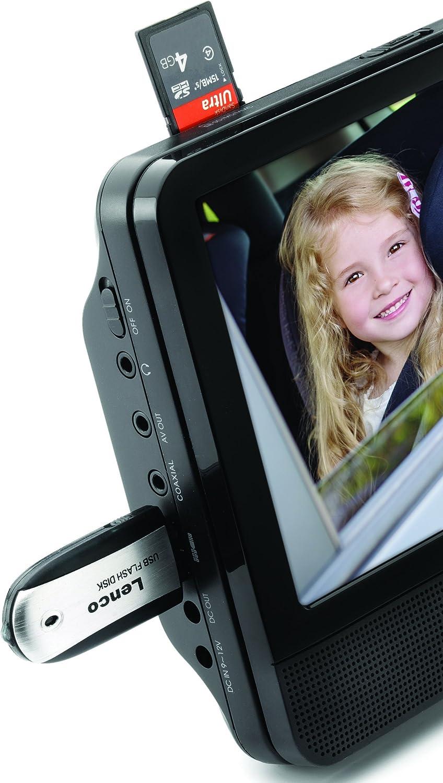 Lenco Dvp 939 9 Zoll Tragbares Dvd Player Set Unabhängig Ansteuerbar Usb Und Sd Mmc Anschluss Integrierter Akku Schwarz Heimkino Tv Video