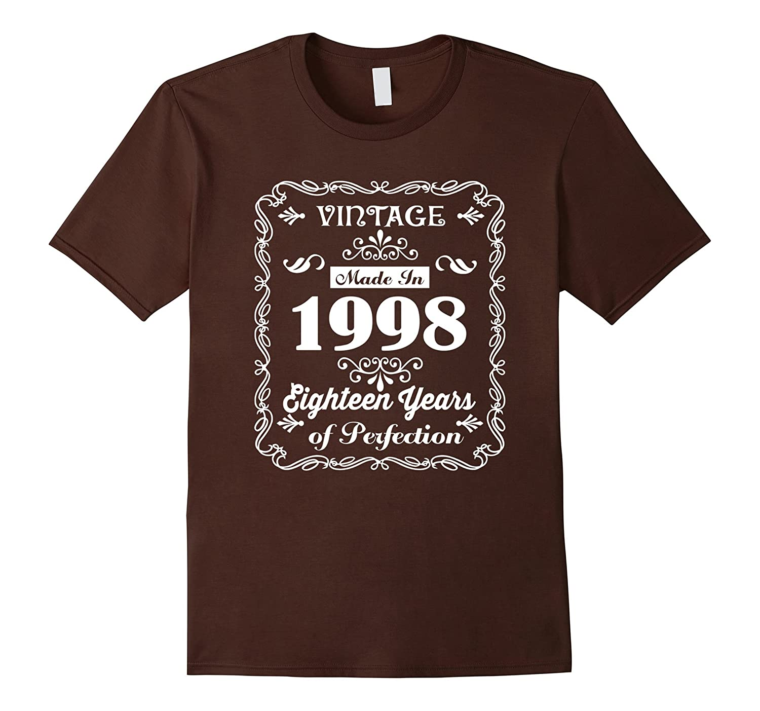 18th Birthday Gift Idea 18 Year Old Boy Girl Shirt 1998t RT