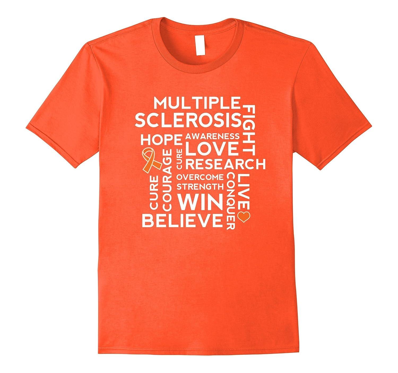 aa2379f8 Multiple Sclerosis Awareness T-shirt MS Walk Tee-Vaci – Vaciuk