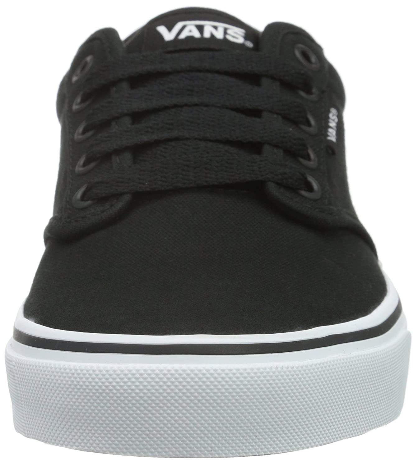 Amazon.com | Vans VTUY187 Mens Atwood (Canvas) Skate Shoes, Black/White, 10.5 D(M) US | Fashion Sneakers