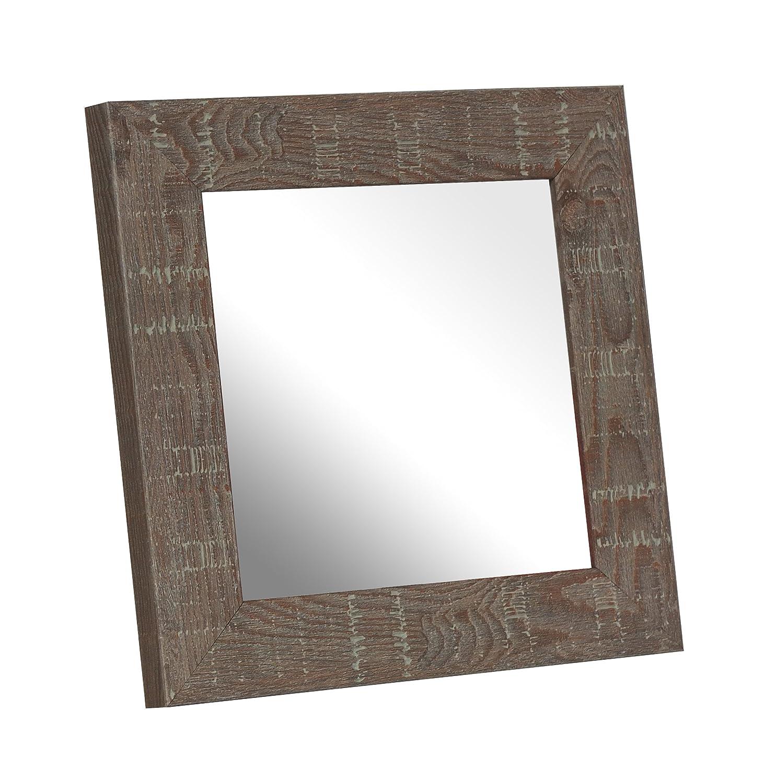 Inov8 Spiegel Rahmen Treibholz Stein 12 x 12 4 Stück, braun, 4 Stück ...