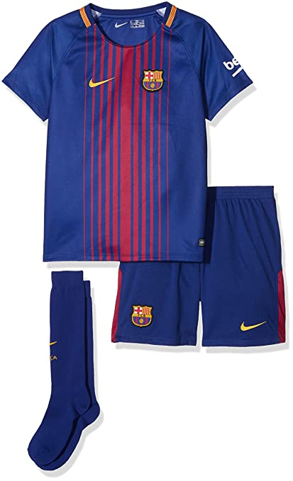 86d3890c15a Amazon.com : Nike FC Barcelona Stadium Home Little Kids' Soccer Mini ...