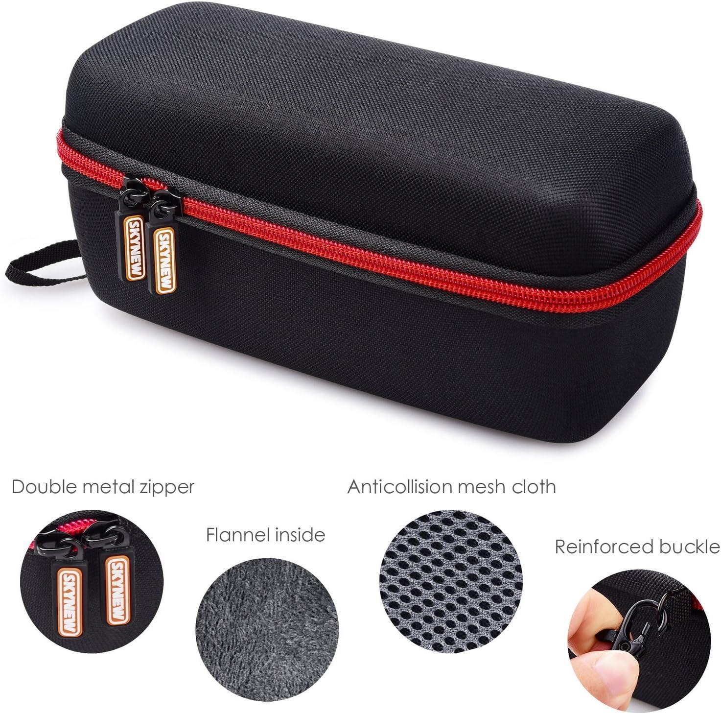 Light Grey SKYNEW Hard Carrying Travel Case for JBL Flip 3 Flip 4 Flip 5 Portable Bluetooth Speaker