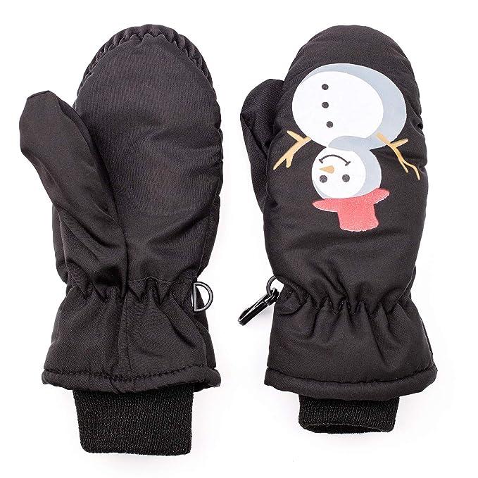 Amazon.com: Guantes de esquí para niños, Eshall Winter Full ...