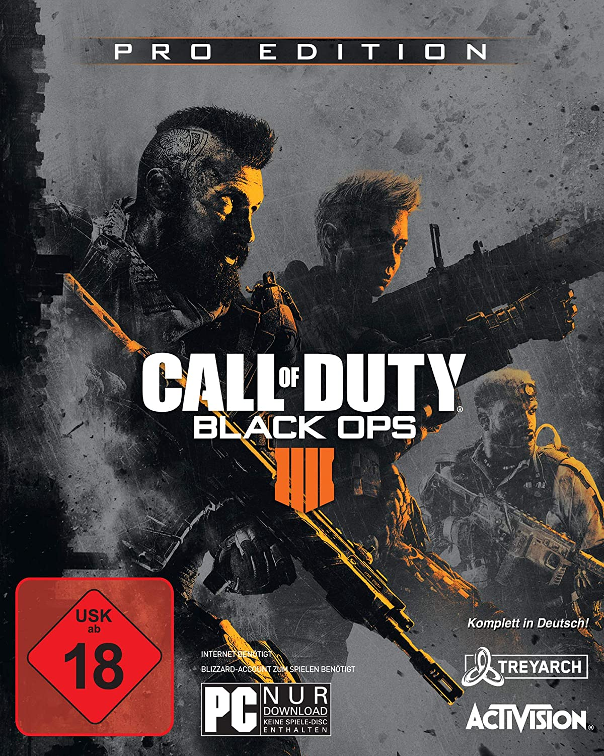 Call of Duty  schwarz Ops 4 - Pro Edition [PC]