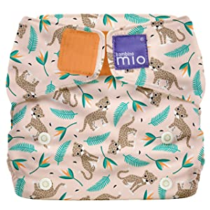 Bambino Mio Miosolo All-in-One Cloth Diaper, Wild Cat