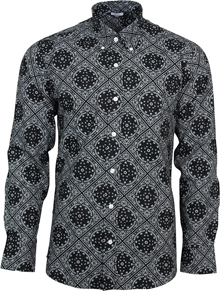 927b62770c Mens Black Button Down Long Sleeve Shirt – EDGE Engineering and ...