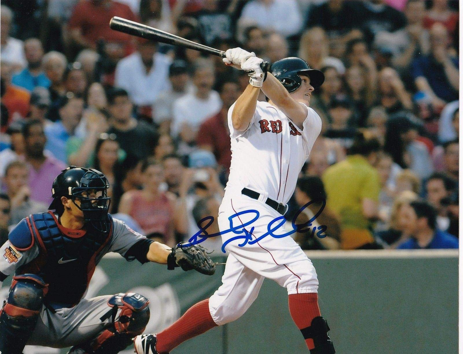 Brock Holt Signed Picture 8x10 Autographed MLB Photos