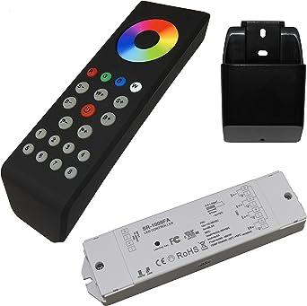 4-Kanal LED Funk Fernbedienung Dimmer SR-2819S-CCT für Empfänger warm-//kalt-weiß