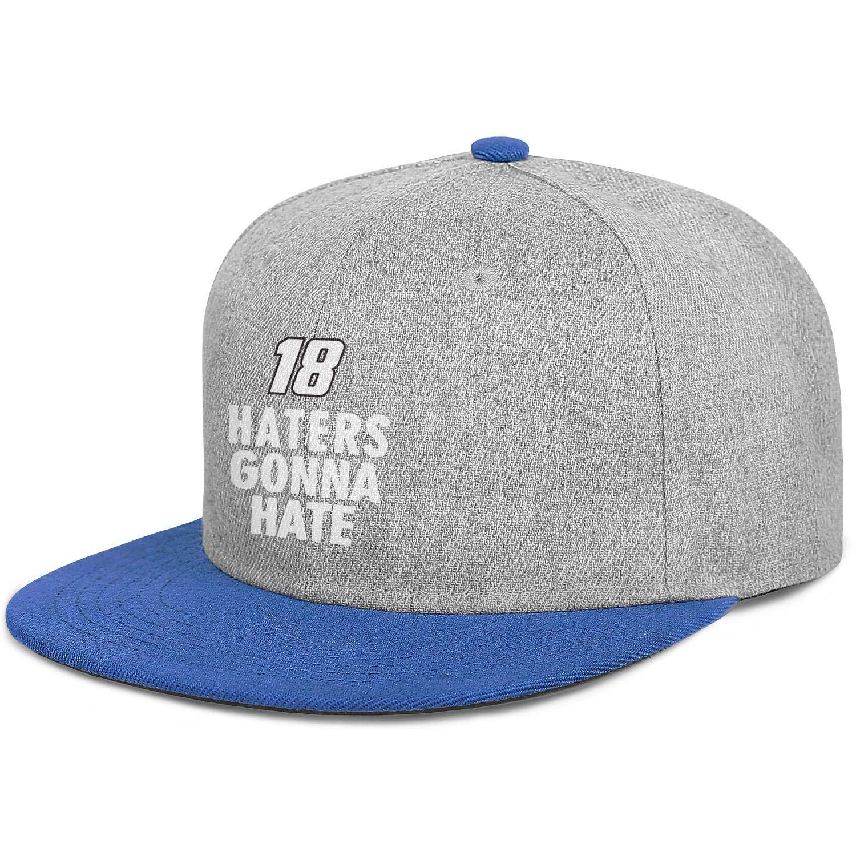 zhkx Unisex Vintage Gorra de béisbol Kyle Busch Haters Gonna Hate ...