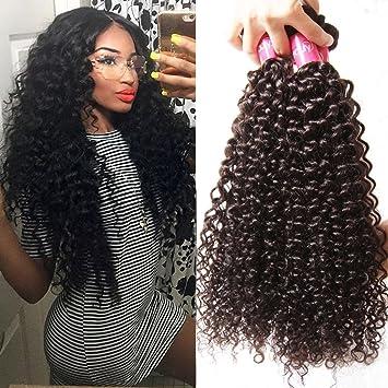 Amazon longqi beauty unprocessed brazilian curly virgin hair longqi beauty unprocessed brazilian curly virgin hair 3 bundles remy brazilian sexy curly weave human hair pmusecretfo Gallery
