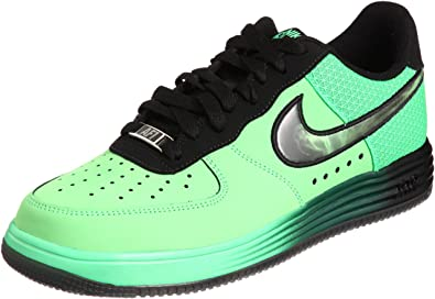uk availability 62e6f a9d9e nike lunar force 1 lthr trainer af1 sneaker poison green 580383 300 one   Amazon.co.uk  Shoes   Bags