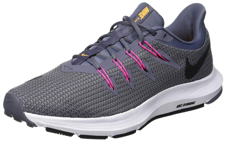 Nike Quest, Zapatillas de Running para Mujer 36.5 EU|Negro (Light Carbon/Black/Laser Orang 003)
