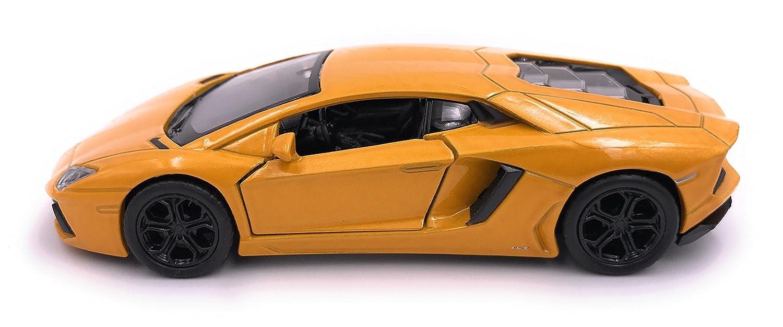 39 jaune Welly Lamborghini Aventador LP 700 mod/èle de voiture de voiture licence produit 1 34-1
