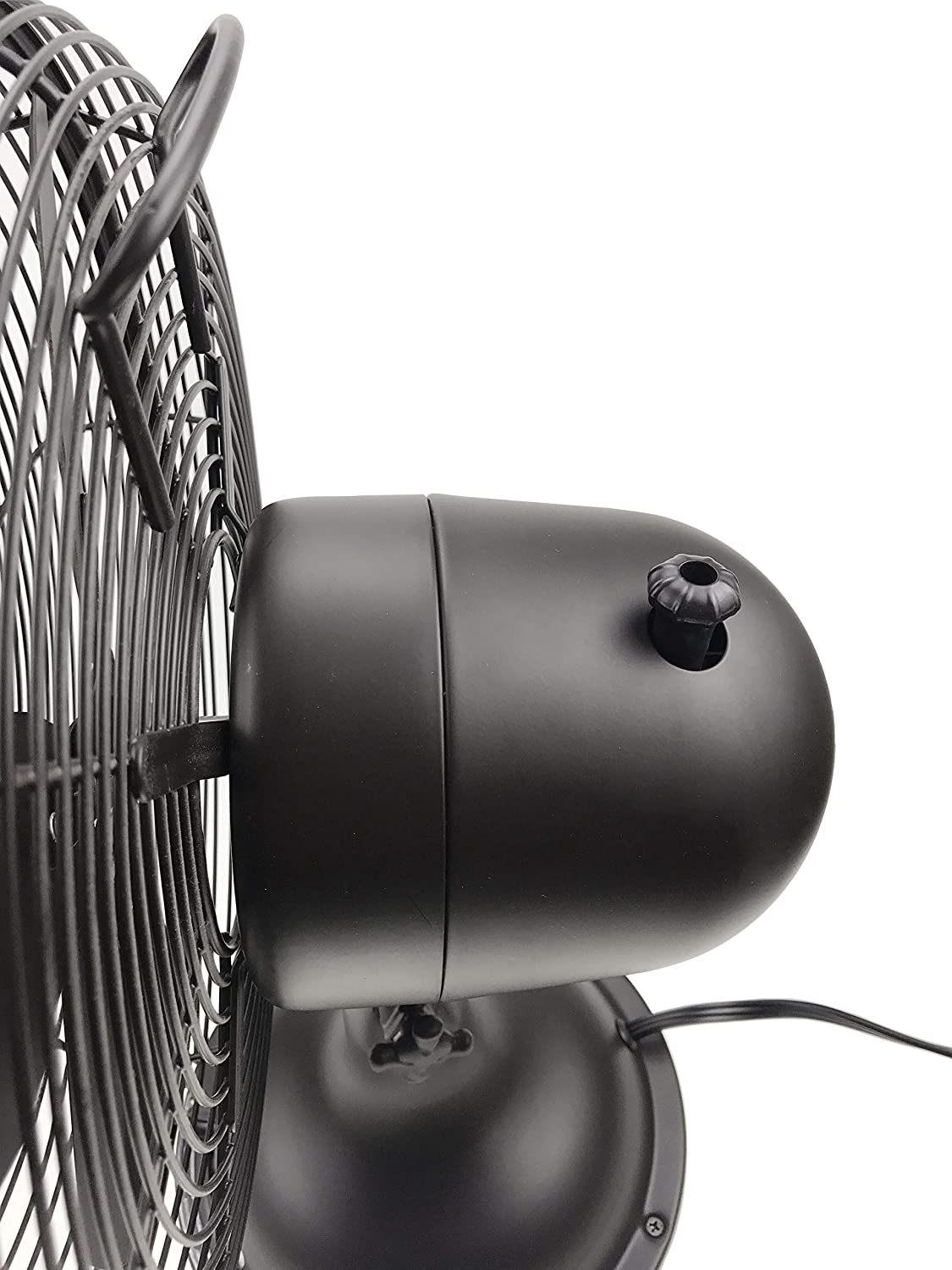 HUNTER 12 Retro Table Fan with All-Metal Construction Oil-Rubbed Bronze