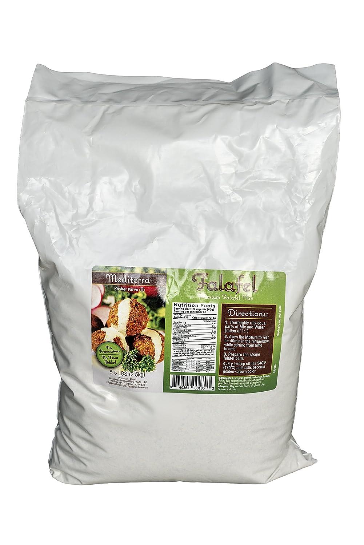 Restaurants' choice Falafel Mix (5.5 LB -- yields 325 balls OR 42 Burgers) Gluten Free, Kosher