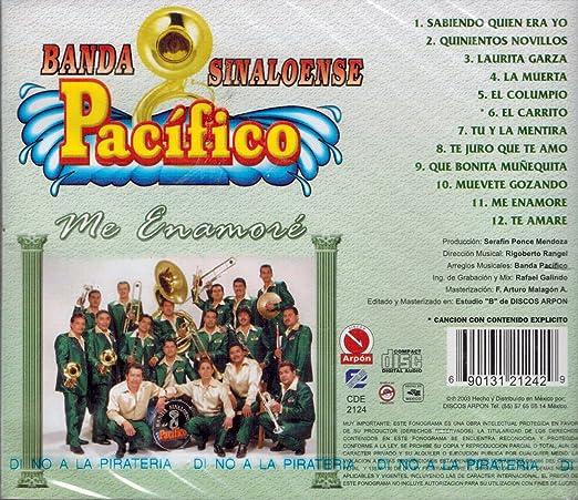 Banda Sinaloense Pacifico - Banda Sinaloense Pacifico -Me Enamore - Amazon.com Music