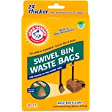 Arm & Hammer Swivel Bin Waste Bags, 20 Count, 20/Pack