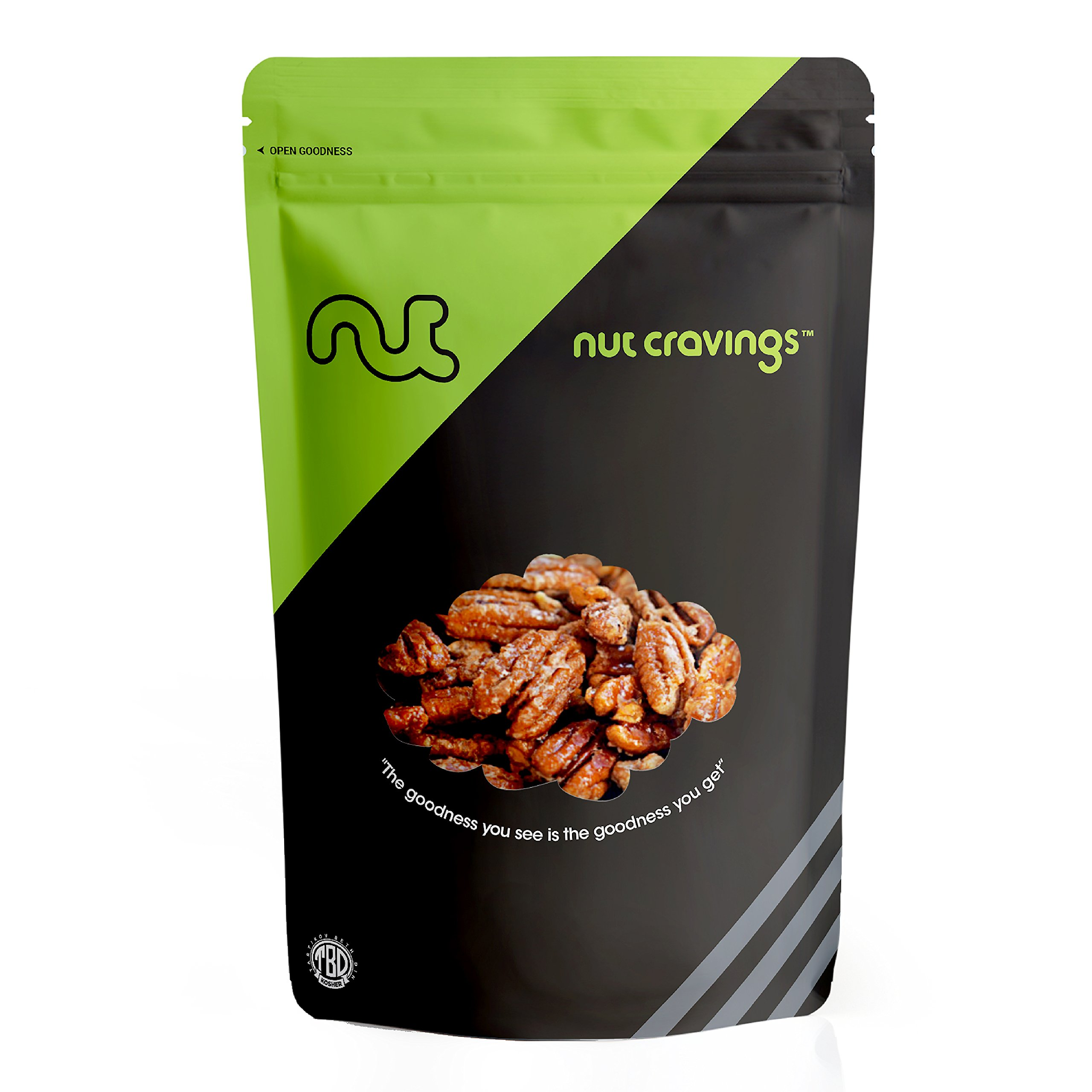 Nut Cravings - Fresh Honey Glazed Candied Pecans - SAMPLER SIZE