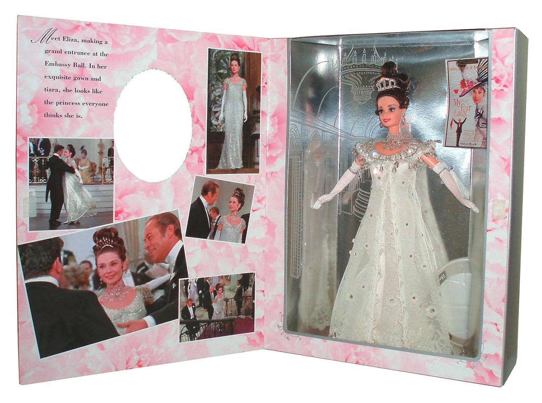 Reducción de precio barbie MY FAIR LADY embassy ball eliza doolittle 1995 Audrey Hepburn