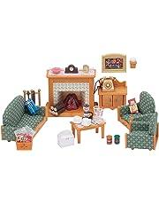 SYLVANIAN FAMILIES Deluxe Living Room Set Mini Muñecas Y Accesorios Epoch para Imaginar 5037