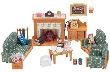 Epoch 5037   Sylvanian Familie Deluxe Wohnzimmer Möbel Set Für Puppenhaus