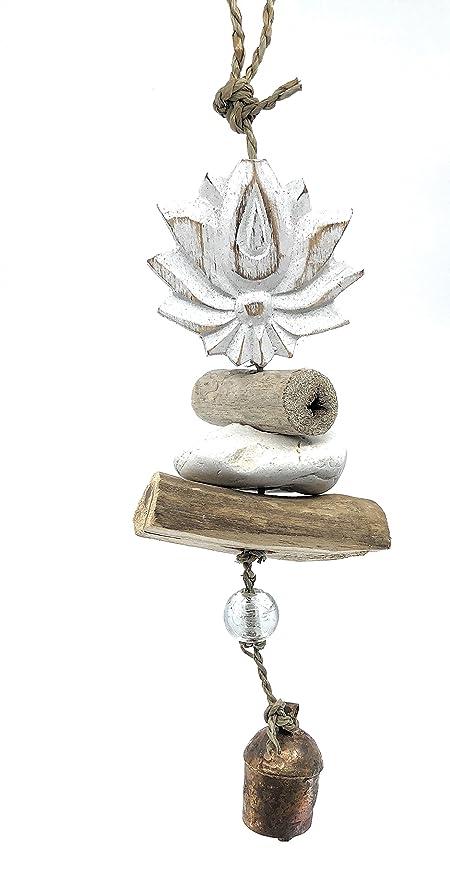 Ella Sussman Campana para Yoga con Diseño de Flor de Loto ...