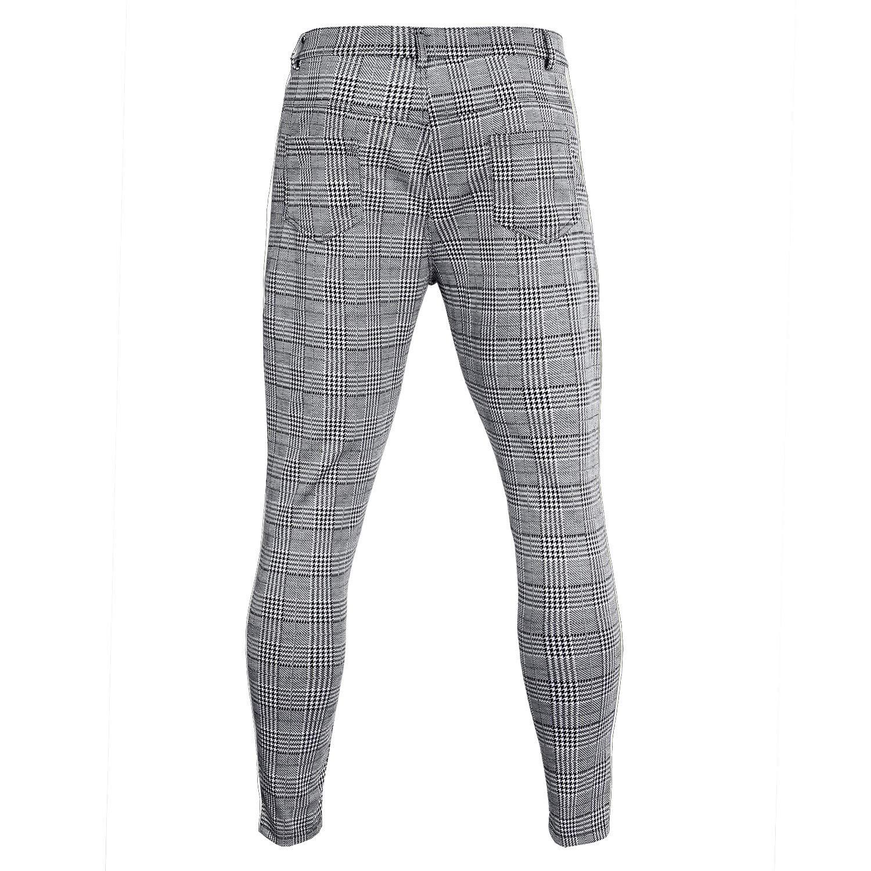 Stoota 2019 Mens Casual Solid Loose Stripe Pocket Sweatpant Trousers Jogger Pant