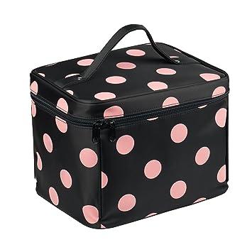 ed0d2e6b69 EN DA Nylon Large Makeup bags Travel makeup bag with quality zipper single  layer multifunctional